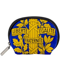 Arms Of The French Republic Accessory Pouch (small) by abbeyz71