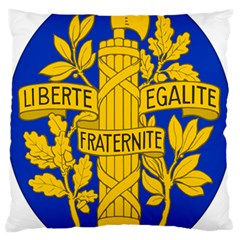 Arms Of The French Republic Standard Flano Cushion Case (two Sides) by abbeyz71