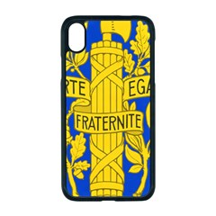 Arms Of The French Republic Iphone Xr Seamless Case (black) by abbeyz71