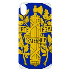 Arms Of The French Republic Apple Iphone Xr Tpu Uv Case by abbeyz71
