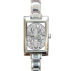 Arms Of The French Republic  Rectangle Italian Charm Watch by abbeyz71