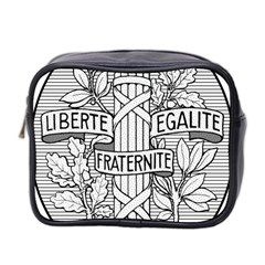 Arms Of The French Republic  Mini Toiletries Bag (two Sides) by abbeyz71