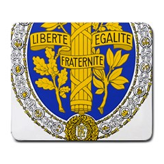 Coat Of Arms Of The French Republic, 1905-1953 Large Mousepads by abbeyz71