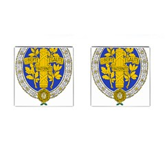 Coat Of Arms Of The French Republic, 1905-1953 Cufflinks (square) by abbeyz71