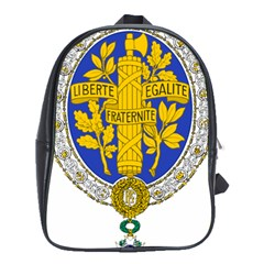 Coat Of Arms Of The French Republic, 1905-1953 School Bag (xl) by abbeyz71