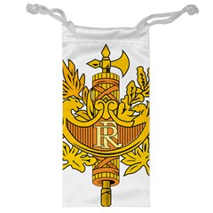 French Republic Diplomatic Emblem Jewelry Bag by abbeyz71
