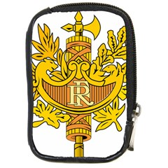French Republic Diplomatic Emblem Compact Camera Leather Case by abbeyz71