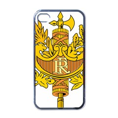 French Republic Diplomatic Emblem Iphone 4 Case (black) by abbeyz71