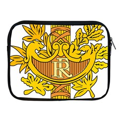 French Republic Diplomatic Emblem Apple Ipad 2/3/4 Zipper Cases by abbeyz71