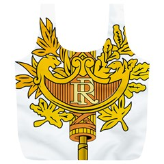 French Republic Diplomatic Emblem Full Print Recycle Bag (xl) by abbeyz71