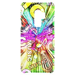 Music Abstract Sound Colorful Samsung S9 Plus Black Uv Print Case
