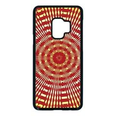 Pattern Background Structure Samsung Galaxy S9 Seamless Case(black) by Alisyart
