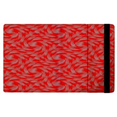 Background Abstraction Red Gray Apple Ipad Pro 12 9   Flip Case