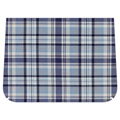 Tartan Design 2 Buckle Messenger Bag