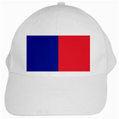 Flag Of Paris White Cap by abbeyz71