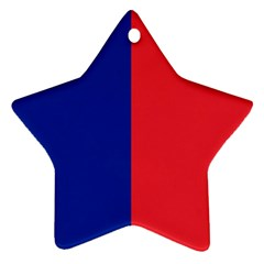Flag Of Paris Ornament (star) by abbeyz71