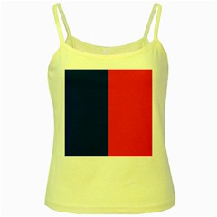 Flag Of Paris Yellow Spaghetti Tank by abbeyz71
