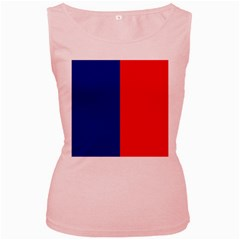 Flag Of Paris Women s Pink Tank Top by abbeyz71