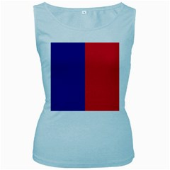 Flag Of Paris Women s Baby Blue Tank Top by abbeyz71