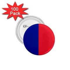 Flag Of Paris 1 75  Buttons (100 Pack)  by abbeyz71