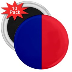 Flag Of Paris 3  Magnets (10 Pack)  by abbeyz71