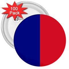 Flag Of Paris 3  Buttons (100 Pack)  by abbeyz71