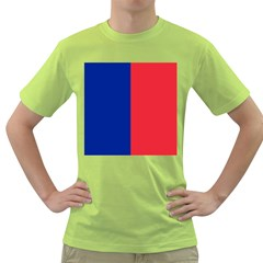Flag Of Paris Green T-shirt by abbeyz71