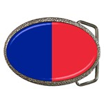 Flag of Paris Belt Buckles Front
