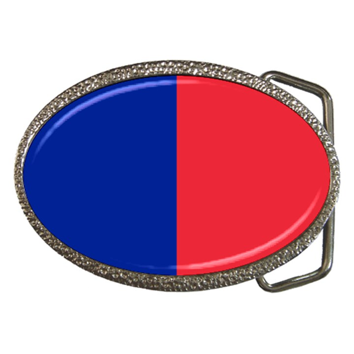 Flag of Paris Belt Buckles
