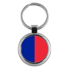 Flag Of Paris Key Chain (round) by abbeyz71