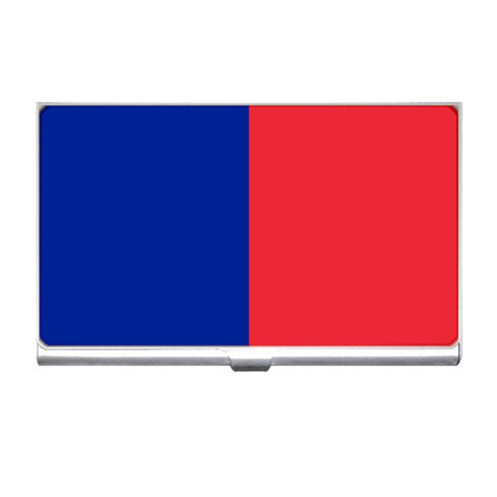 Flag of Paris Business Card Holder