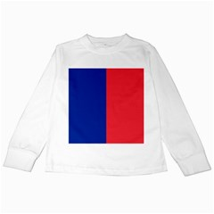 Flag Of Paris Kids Long Sleeve T-shirts by abbeyz71