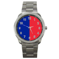 Flag Of Paris Sport Metal Watch by abbeyz71