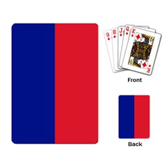 Flag Of Paris Playing Cards Single Design (rectangle) by abbeyz71