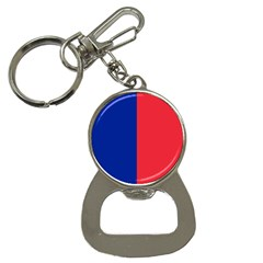 Flag Of Paris Bottle Opener Key Chain by abbeyz71