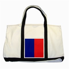 Flag Of Paris Two Tone Tote Bag by abbeyz71