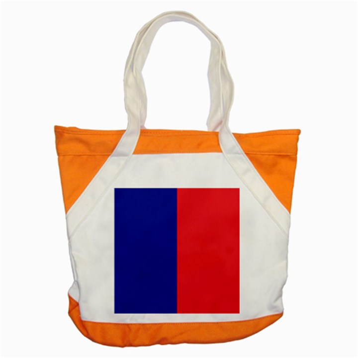 Flag of Paris Accent Tote Bag