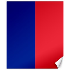 Flag Of Paris Canvas 8  X 10
