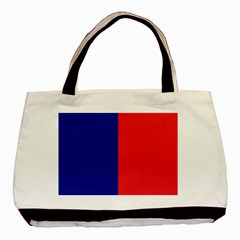 Flag Of Paris Basic Tote Bag (two Sides) by abbeyz71
