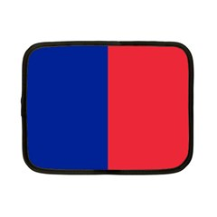 Flag Of Paris Netbook Case (small) by abbeyz71