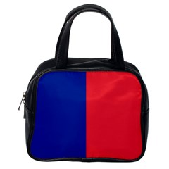 Flag Of Paris Classic Handbag (one Side) by abbeyz71