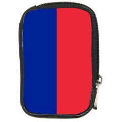 Flag Of Paris Compact Camera Leather Case by abbeyz71