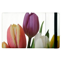 Tulips Spring Bouquet Apple Ipad Mini 4 Flip Case by picsaspassion