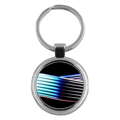 Motion Line Illustrations Key Chain (round) by HermanTelo