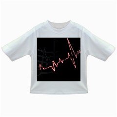 Music Wallpaper Heartbeat Melody Infant/toddler T-shirts by HermanTelo