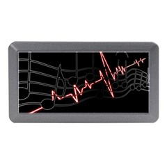 Music Wallpaper Heartbeat Melody Memory Card Reader (mini)