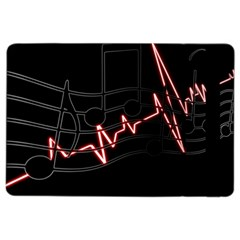 Music Wallpaper Heartbeat Melody Ipad Air 2 Flip