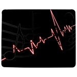 Music Wallpaper Heartbeat Melody Jigsaw Puzzle Photo Stand (Rectangular) Front