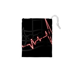 Music Wallpaper Heartbeat Melody Drawstring Pouch (xs)