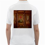 Steampunk Design Golf Shirt Back